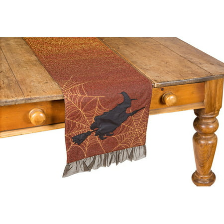Xia Home Fashions Witching Hour Halloween Table Runner