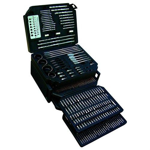 K Tool International KTI-10330 326 Piece Master Drill Bit Set