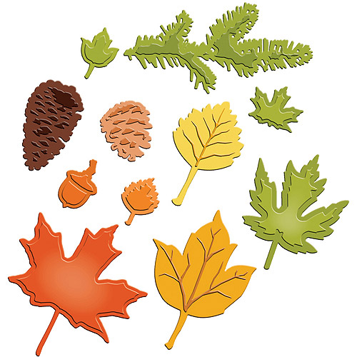 Spellbinders Shapeabilities Dies, Fall Foliage
