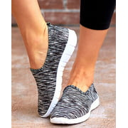 The Lakeside Collection Memory Foam Sneakers Black 8