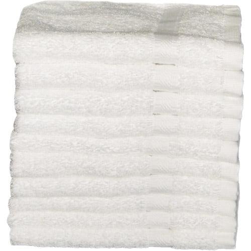 Baltic Linen RSVP Heavyweight Washcloths, 10pk, White