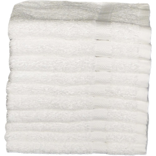 Baltic Linen RSVP Heavyweight Washcloths, 10pk, White