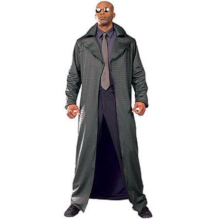 Adult Deluxe Morpheus Costume.](Matrix Morpheus Costume)