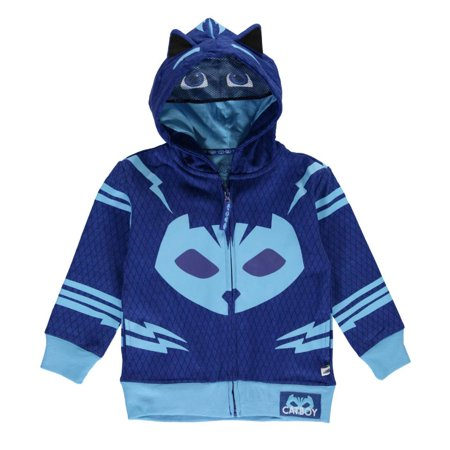 The Flash Hoodie With Mask (PJMASKS Toddler Boys' Pj Masks Gekko and Catboy)