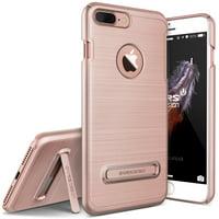 iPhone 8 Plus Case, iPhone 7 Plus Case, VRS Design [Simpli Lite] Slim Shockproof PC Cover with Kickstand