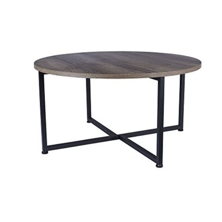Walmart Round Coffee Table (Household Essentials Ashwood Round Coffee)