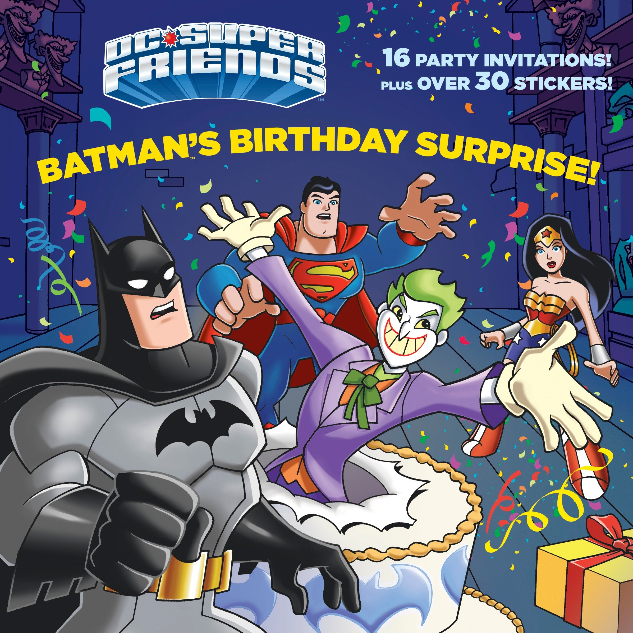 Pictureback Books: Batman's Birthday Surprise! (DC Super Friends) (Paperback)