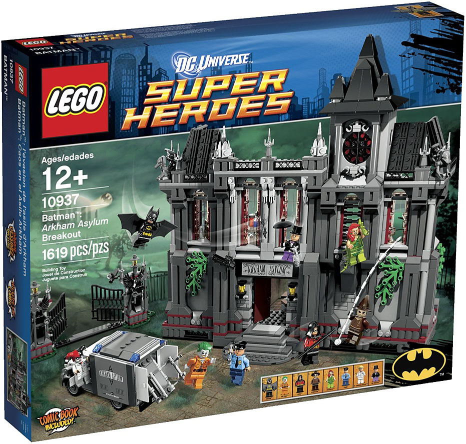 LEGO Super Heroes Batman: Arkham Asylum Breakout Play Set