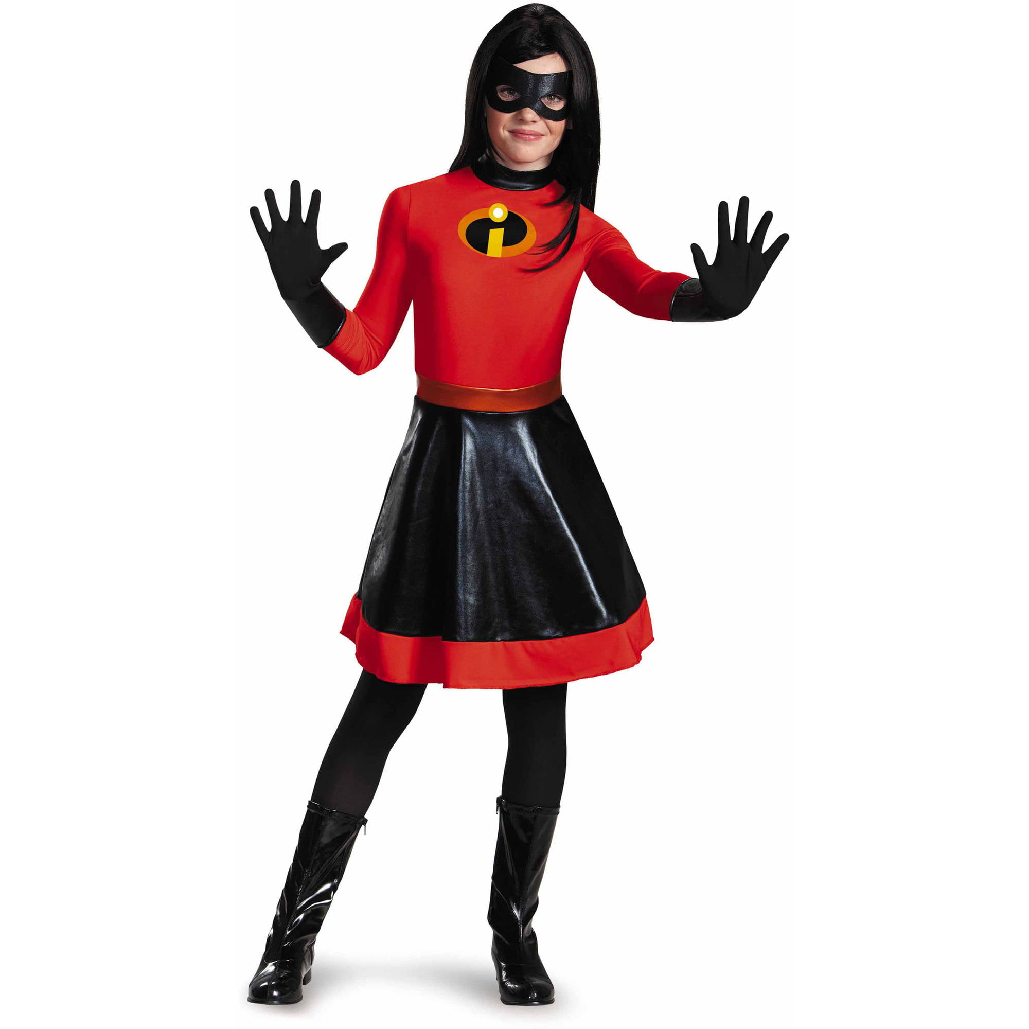 The Incredibles Violet Tween Halloween Costume Walmart Com Walmart Com