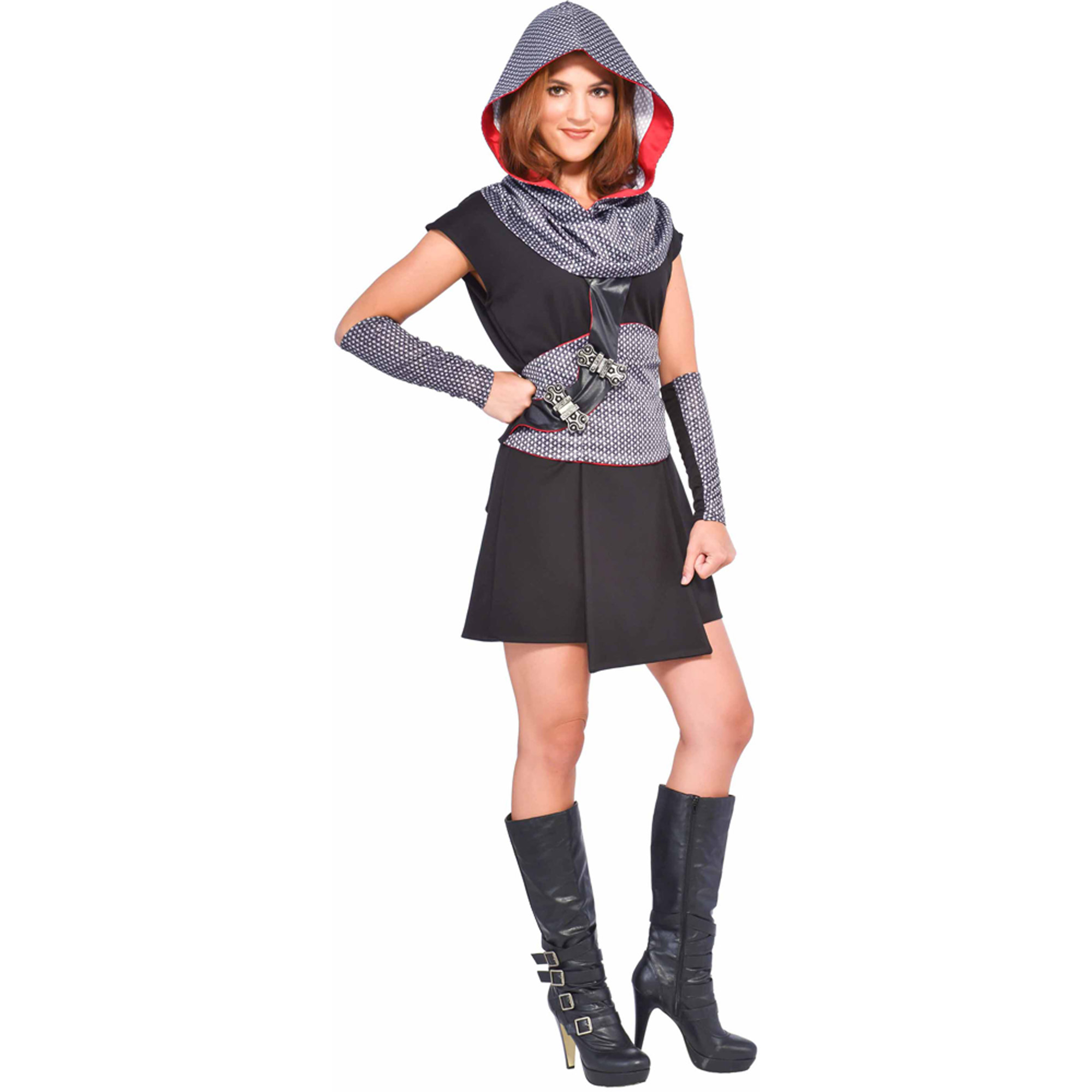 crusader women's adult halloween dress up / role play costume