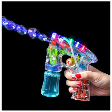 Lumistick Light-Up Bubble Blaster Gun](Bubble Gun Reviews)