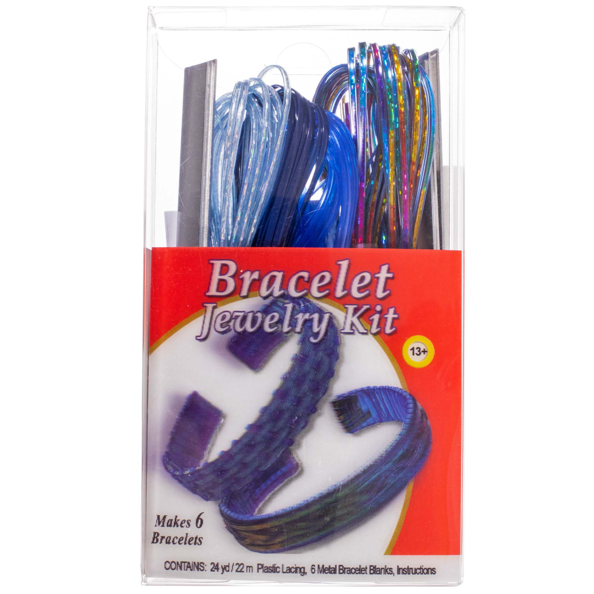 Craft County Craft County Rexlace Bracelet Kits With Plastic Lace