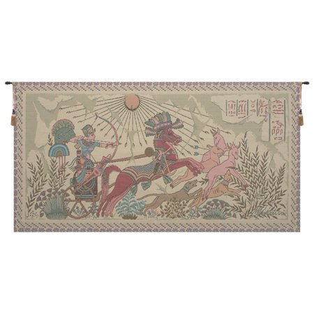 Ramsees Egyptian Tapestry Wall Hanging - A - H 26 x W 50 - image 1 of 1