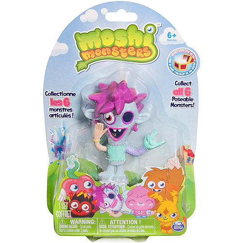 Moshi Monsters Collector Figures, Characters May Vary