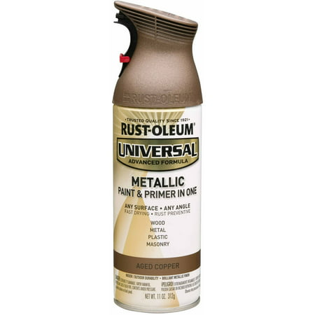 Rust-Oleum Universal Metallic Aged Copper Spray Paint 11oz