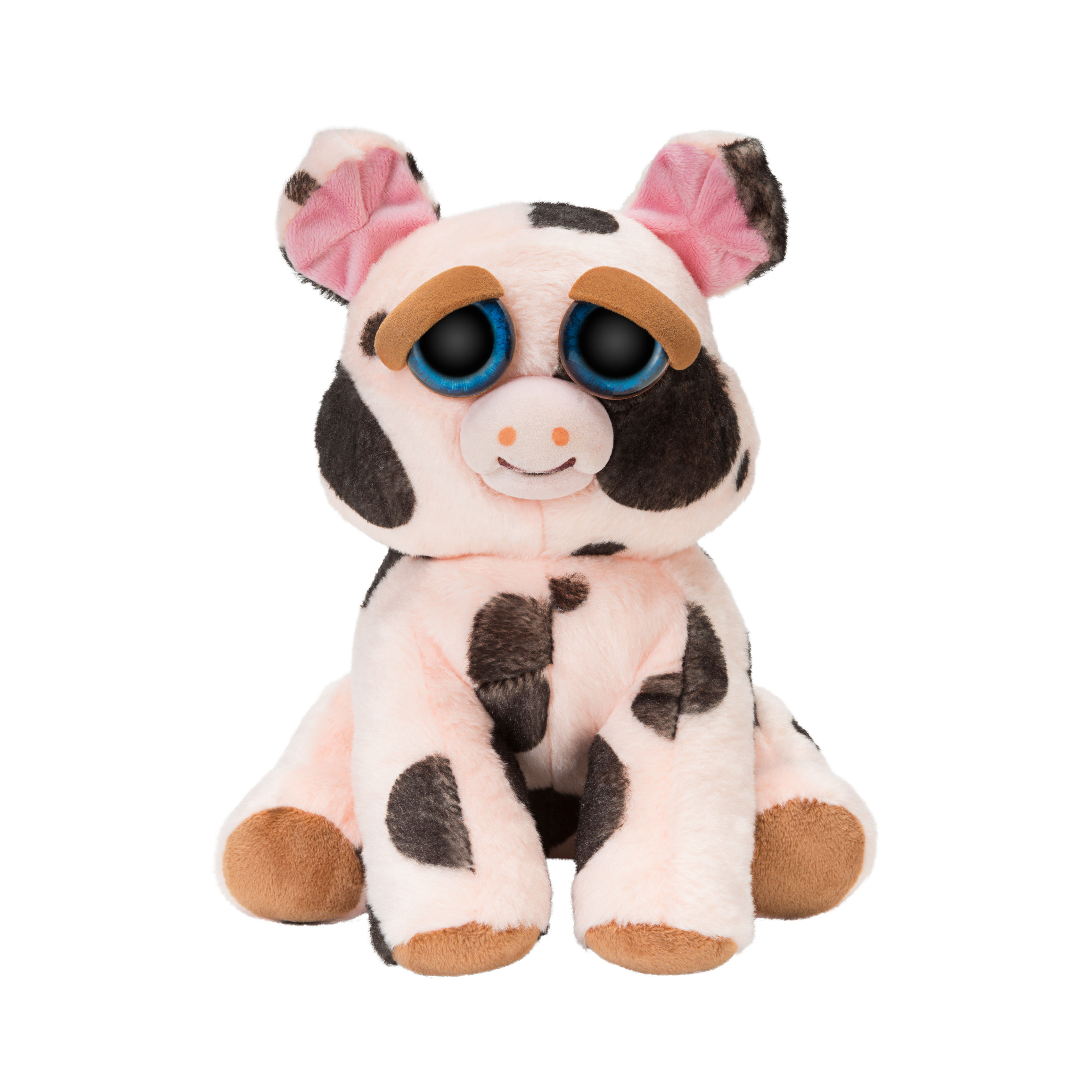 "Feisty Pets 10"" Plush Mort the Snort Spotted Pig"