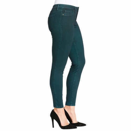 e3f6963ef869 JS JEANS - JESSICA SIMPSON WOMEN'S MID-RISE SLIM FIT COATED SKINNY ...