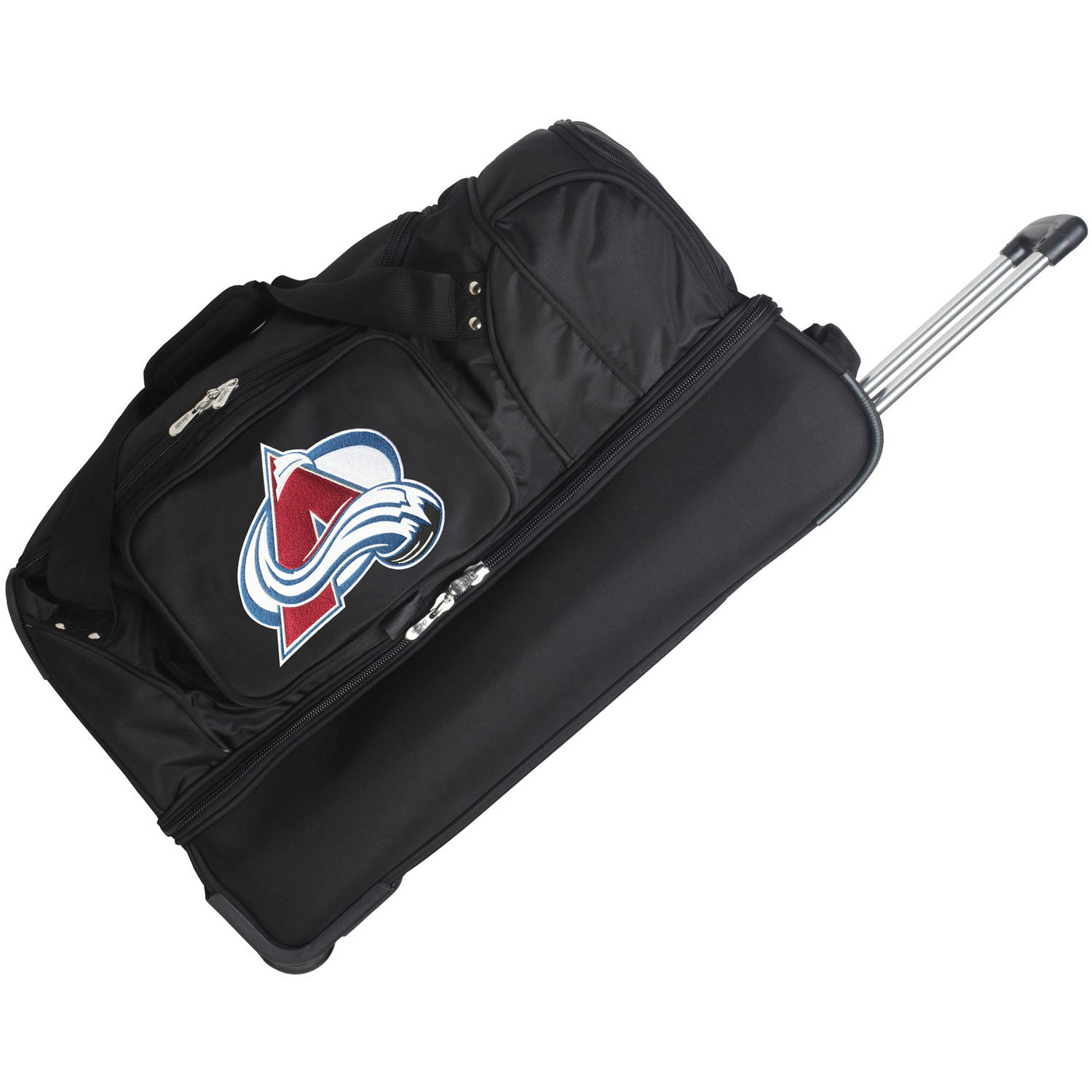 "Denco NHL 27"" Rolling Drop Bottom Duffel, Colorado Avalanche"