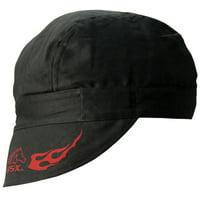 Black Stallion BSX BC5W-BK Double Layer Cotton Welding Cap