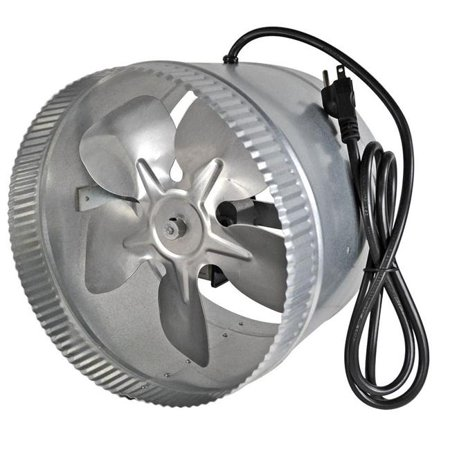 Suncourt DB210C 10 in. Duct Fan with Attached Power Cord, Case of 2 - image 1 of 1