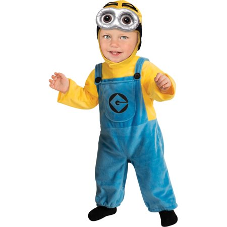 Easy Minion Costume (Kids Boys Child Minion Dave Despicable Me Costume Toddler)