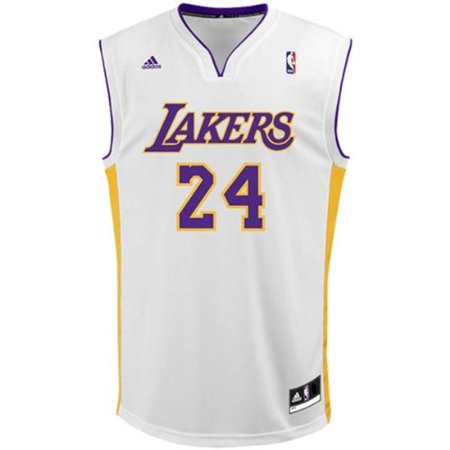 adidas - Kobe Bryant Los Angeles Lakers NBA Kids Sizes 4-7 Jersey White (Kids  Medium Size 5 6) - Walmart.com fad08dcad
