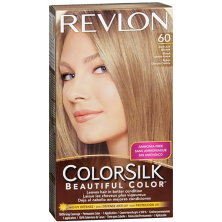 Revlon Colorsilk Beautiful Color 60 Dark Ash Blonde Hair Color 1