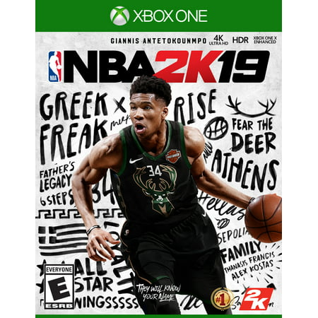NBA 2K19, 2K, Xbox One, 710425590504 (Superman Xbox One Game)