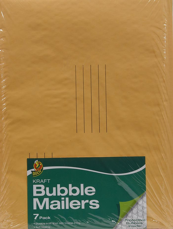 "Size #5 Kraft Bubble Mailer 10.5/""x15/"" Ships Today!"