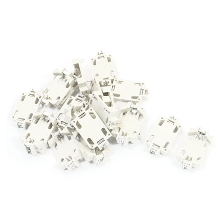 Unique Bargains 20pcs 3 Pins DIP Type Coin Cell Button Battery Holder  Socket for CR2032 - Walmart com