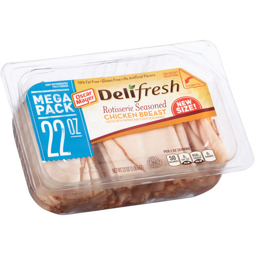 Oscar Mayer Deli Fresh Rotisserie Seasoned Chicken Breast, 22 oz
