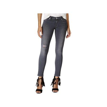 Hudson Womens Krista Mid-Rise Super Skinny Ankle Jeans