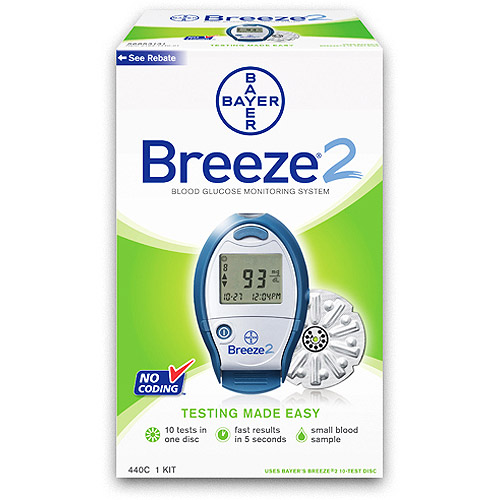Walma Com: Bayer Breeze2 Blood Glucose Monitor