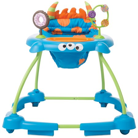 Cosco Simple Steps Baby Walker, Monster Syd