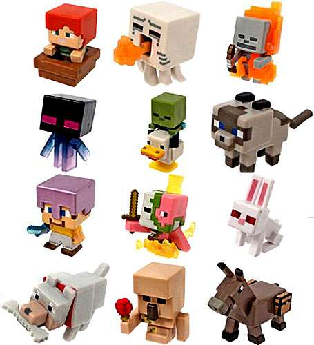 Minecraft Ice Series 5 Set of 12 Mini Figures
