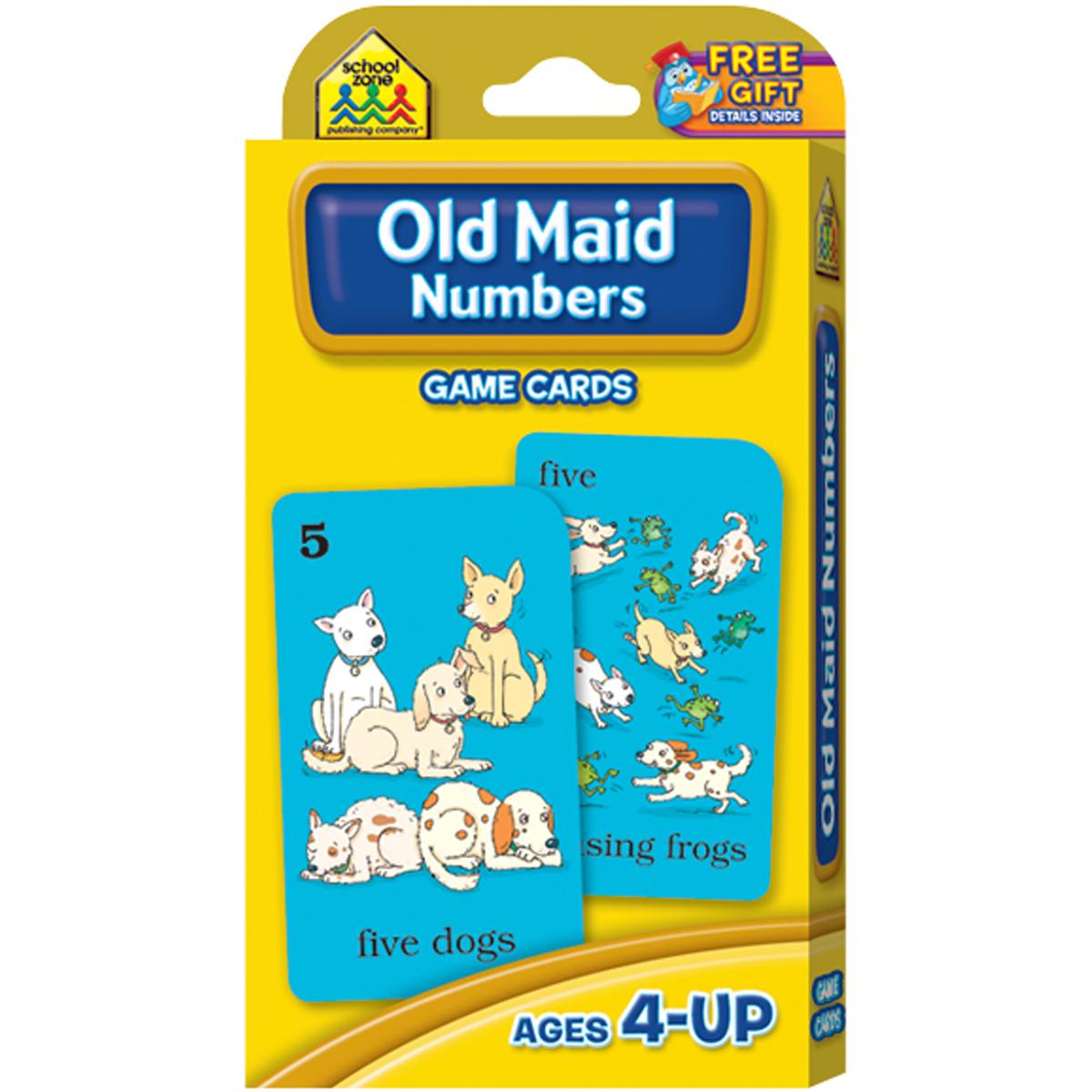 Game Cards-Old Maid 49/Pkg