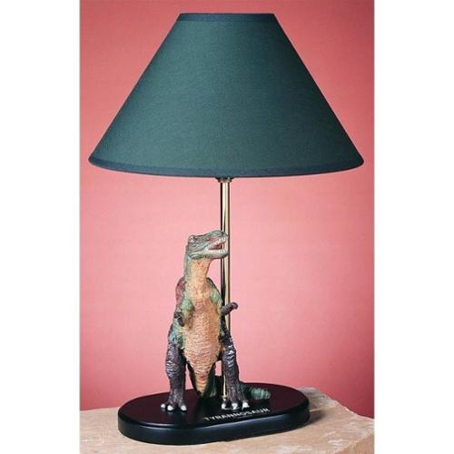 Cal Lighting Tyrannosaurus 15'' H Table Lamp with Empire Shade