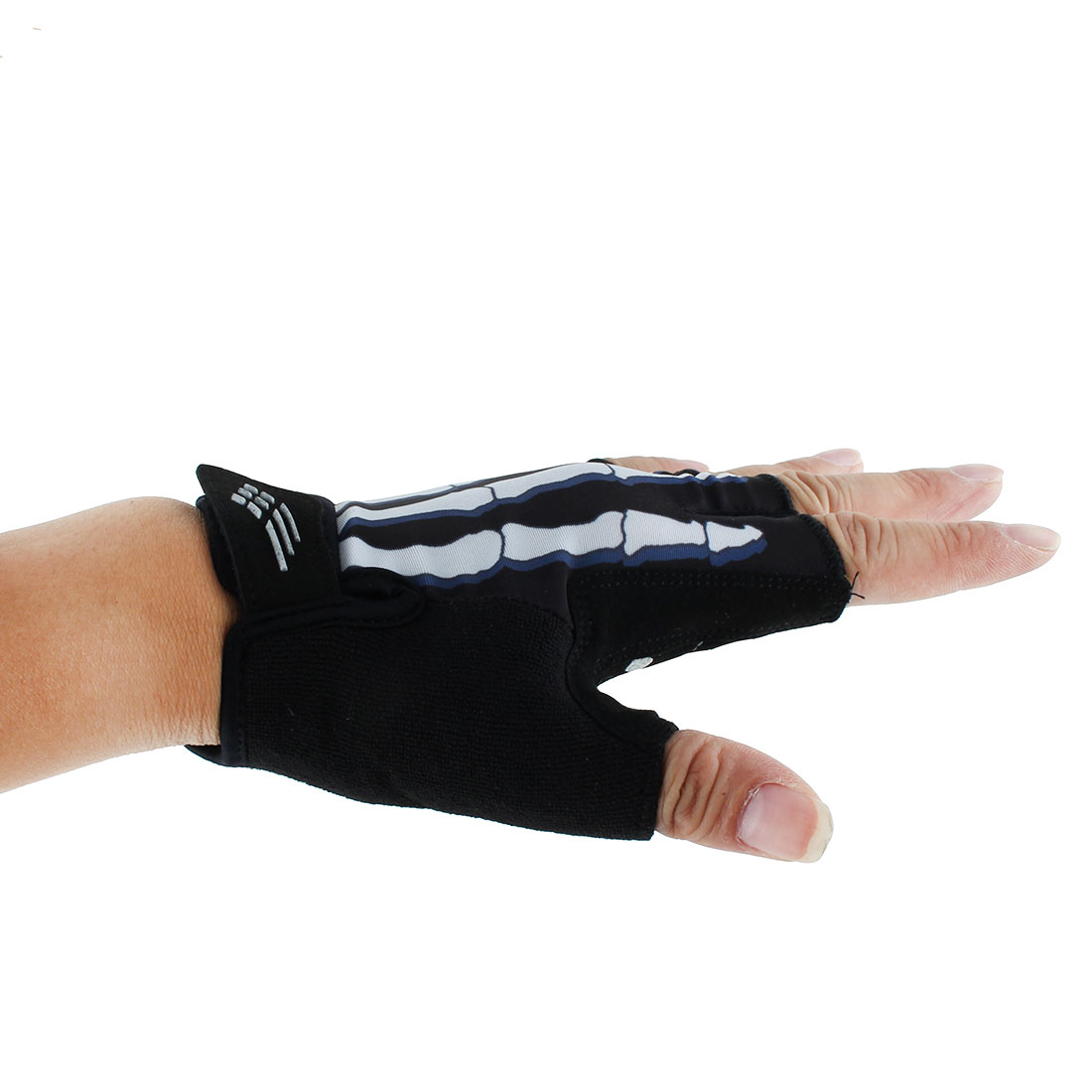 XINTOWN Authorized Cycling Outdoor Exercise Riding Half Finger Gloves #7 L Pair - image 2 of 4