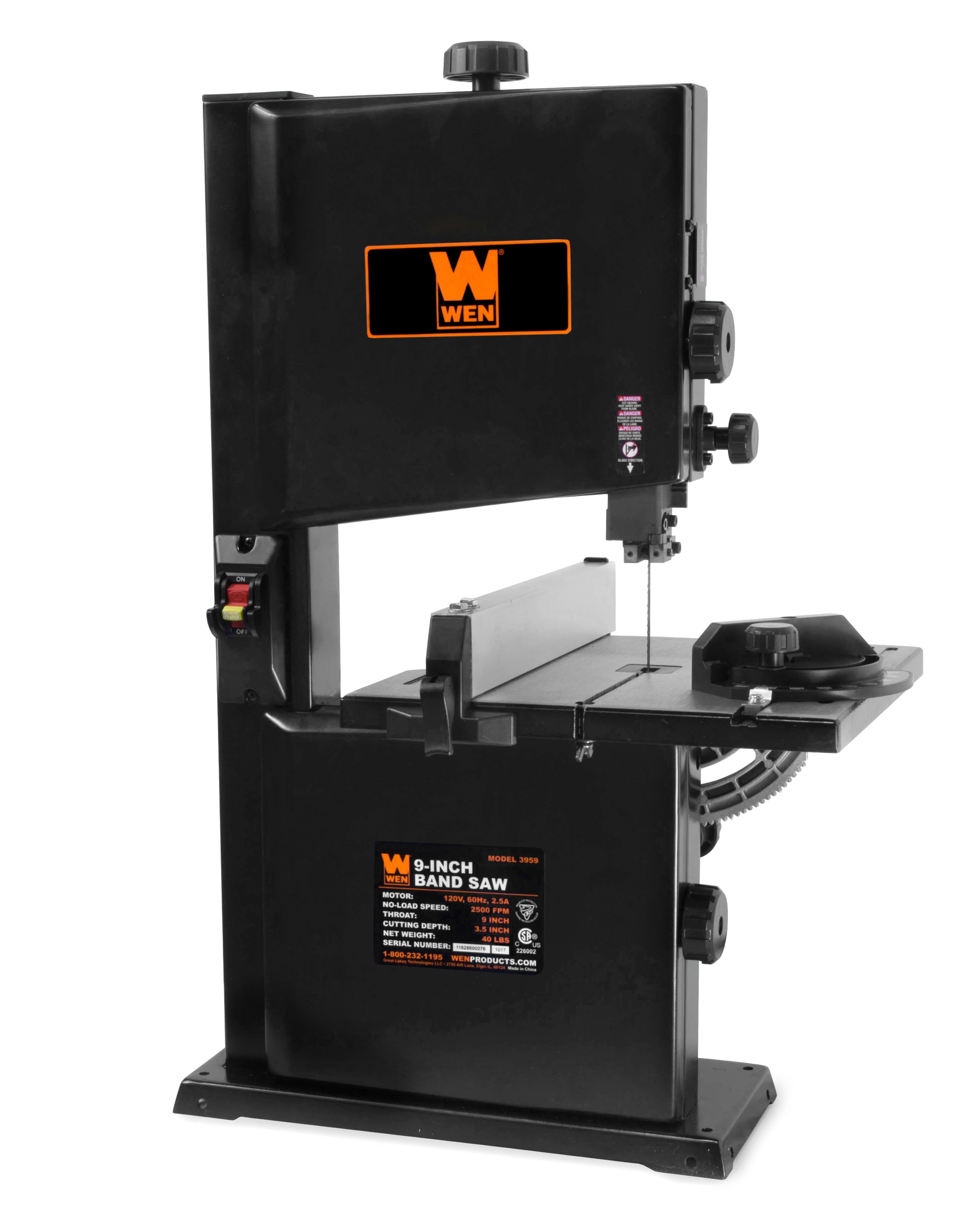 WEN 2.5-Amp 9-Inch Benchtop Band Saw by WEN