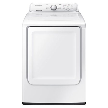 Samsung DV40J3000EW 27; 7.2 Cu. Ft. Front Load Electric Dryer with Moisture Sensor 8 Preset Drying Cycles