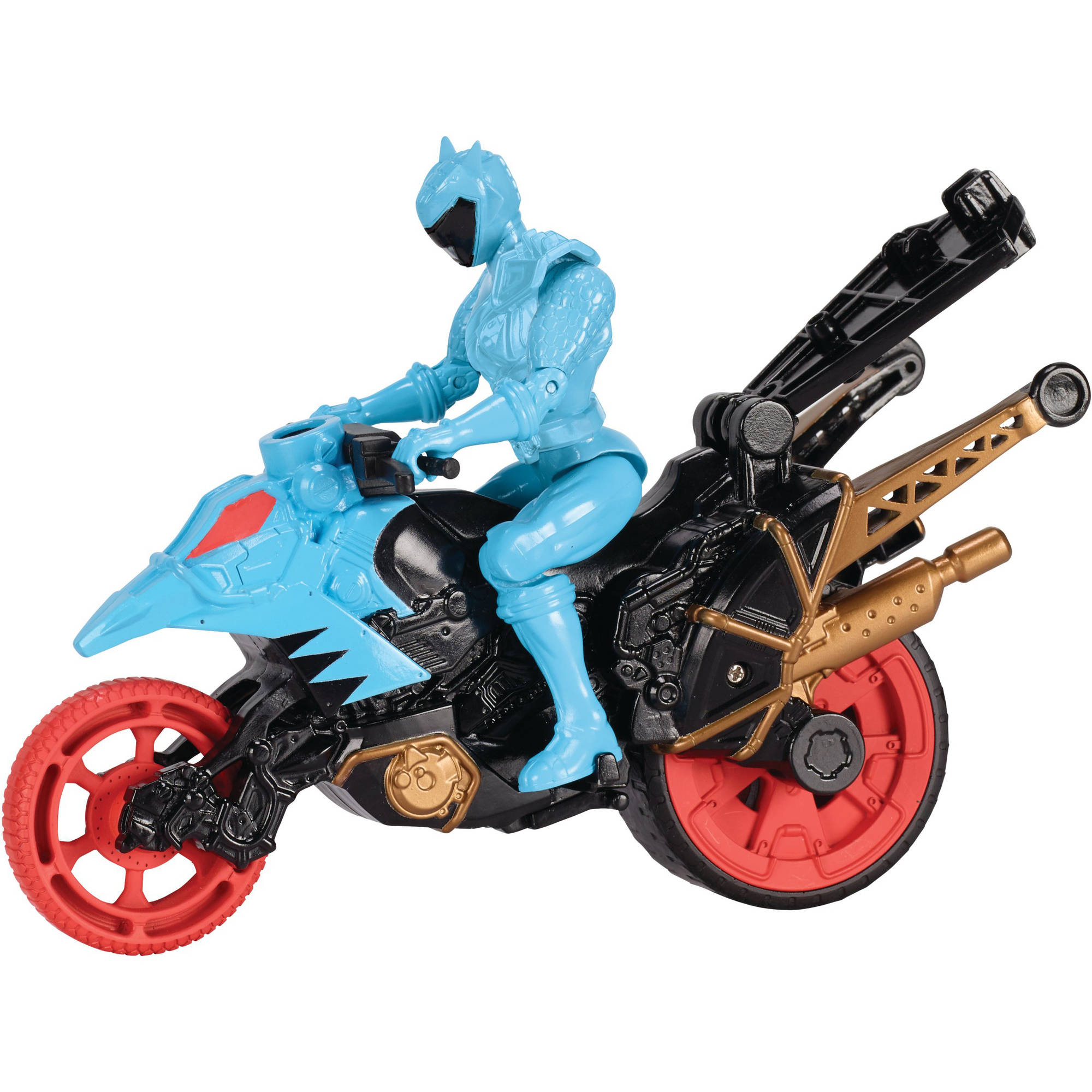 Power Rangers Dino Super Charge Dino Stunt Bike and Aqua Ranger