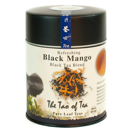The Tao of Tea, Black Mango Tea, Loose Leaf Tea, 4 Oz