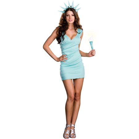 Statue Of Liberty Costumes For Adults (Miss Liberty Adult Costume)