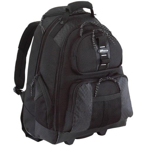Targus Rolling Notebook Case Tsb700 Backpack Black Notebook Case by Targus