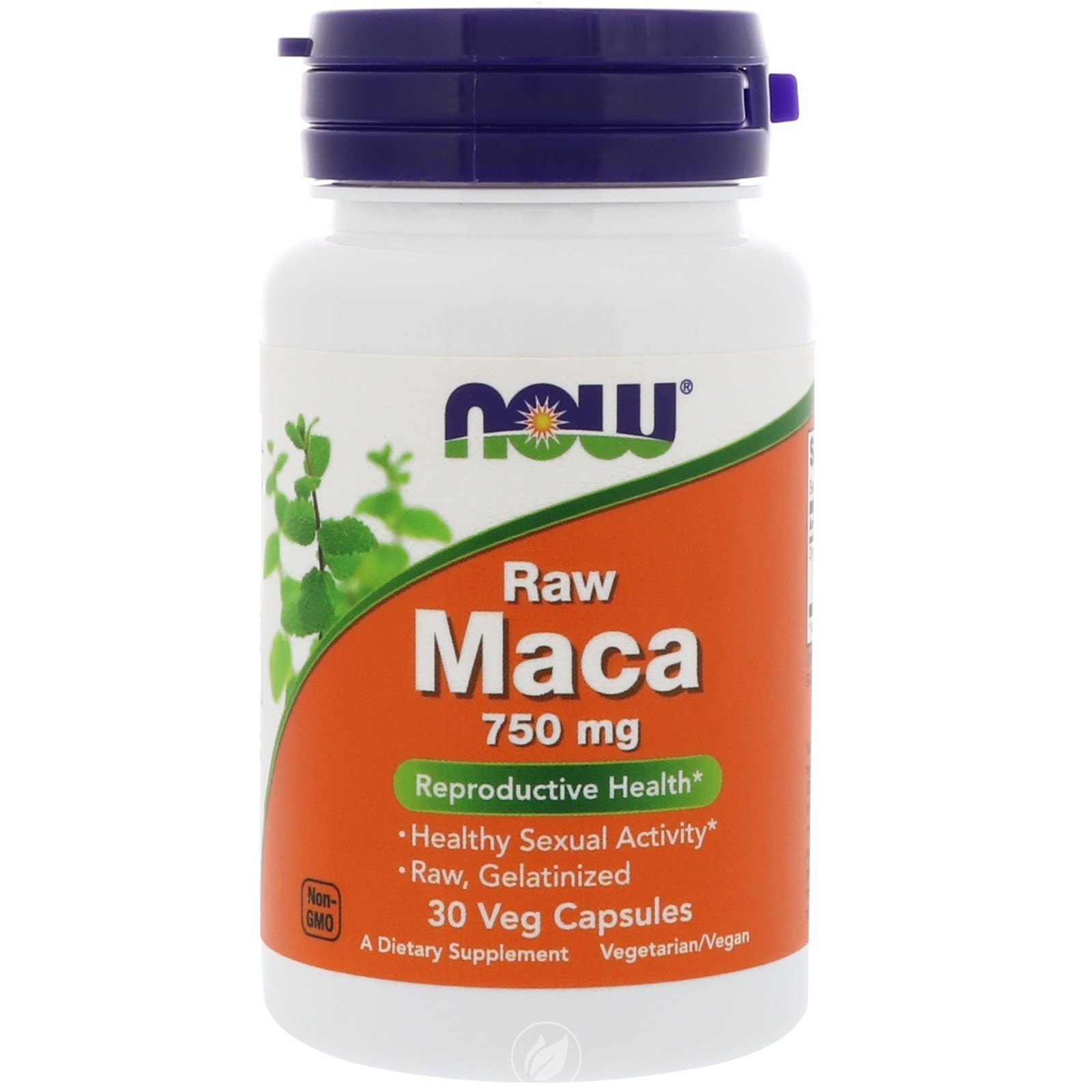 Now Foods MACA 750 MG (6:1 CONC) 30 VCAPS, Pack of 2