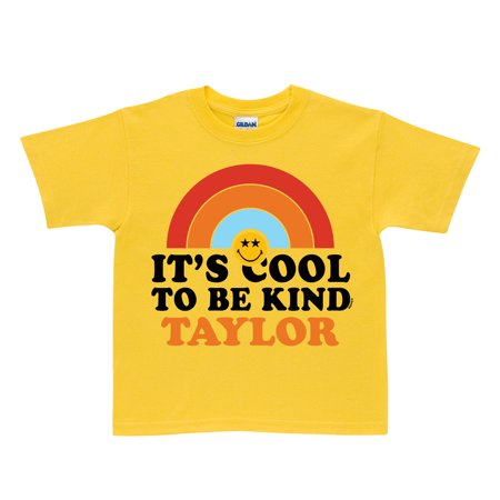 dff59cd8 Smiley World Cool to be Kind Yellow Toddler T-Shirt - Walmart.com