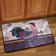 Sweet Home Collection Rooster Mat