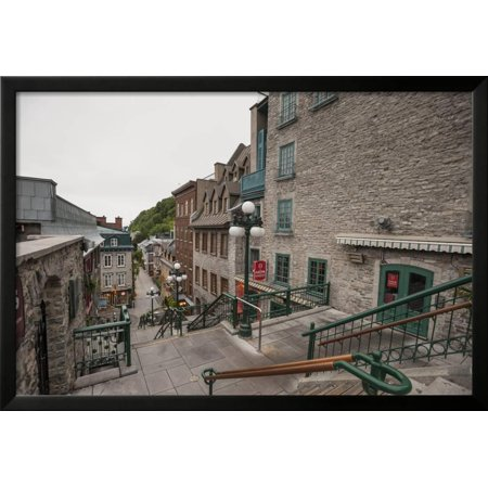 Quebec City Province Of Quebec Canada North America Framed Print Wall Art By Michael Snell