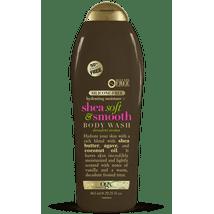 Body Washes & Gels: OGX Shea Soft & Smooth Body Wash