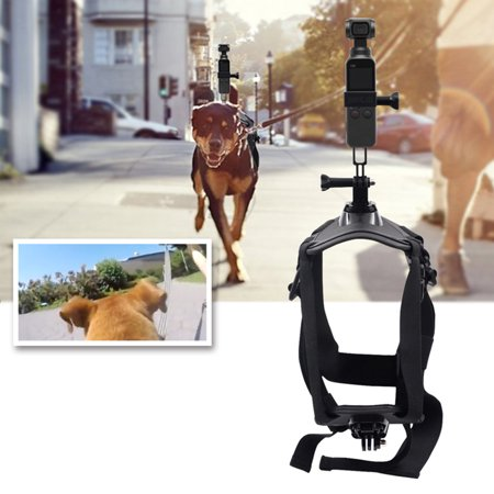 Pets Dog Harness Mount Adjustable Chest Strap Shoot Picture and Video for Insta360 ONE X/EVO Action